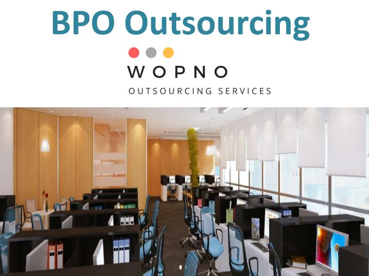 bpo outsourcing n.