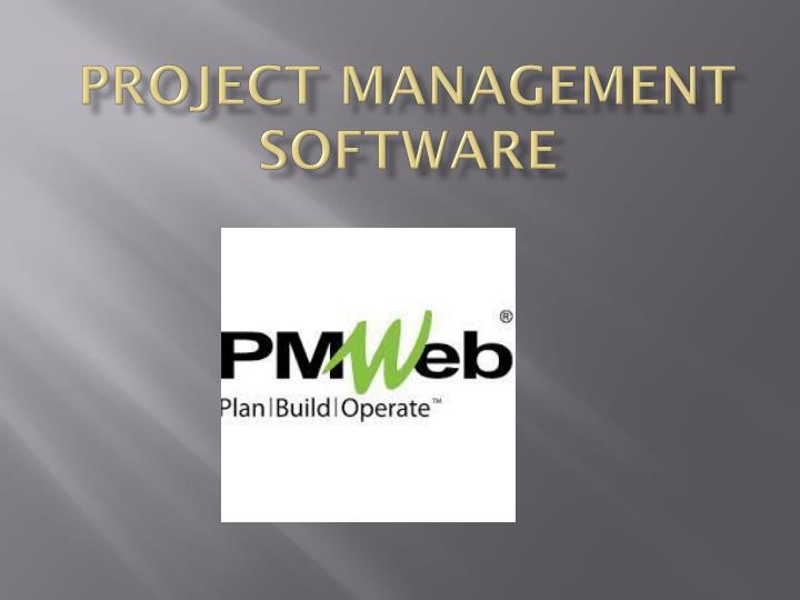 project management software n.