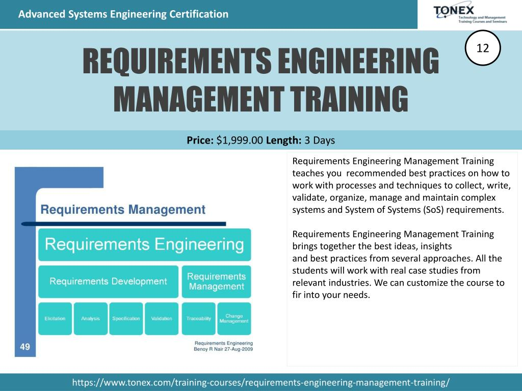engineering certification advanced systems ppt powerpoint presentation