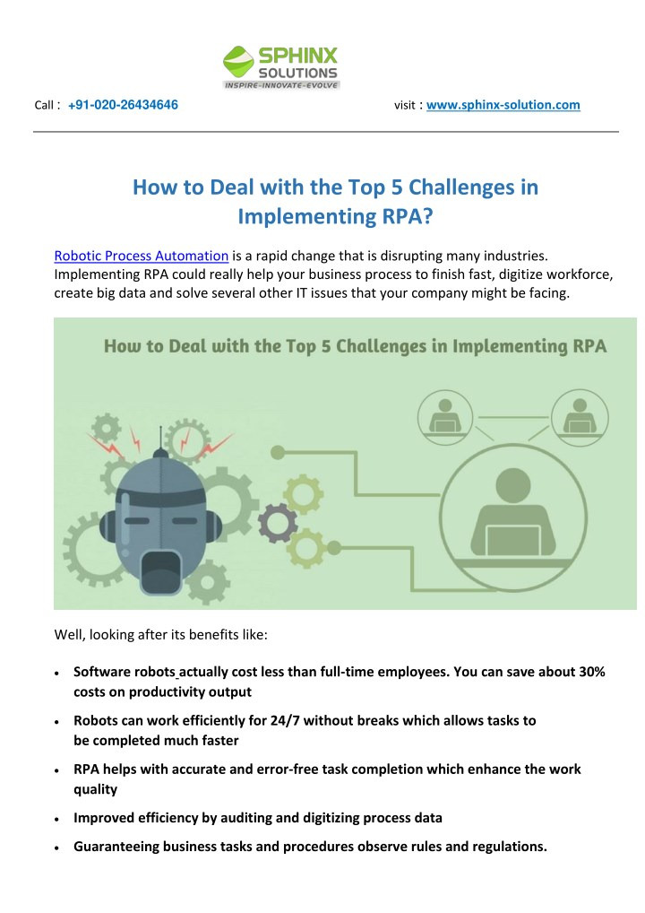 PPT - How to Deal with the Top 5 Challenges in Implementing