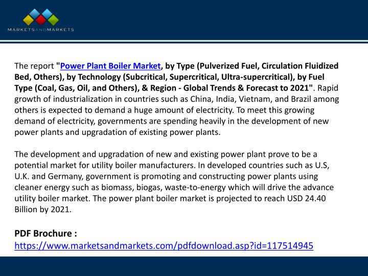 PPT - Have You Look Power Plant Boiler Market Growing Continuously ...