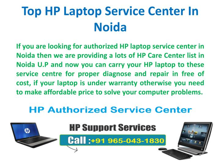 PPT - Top Authorized HP Laptop Service Center In Noida U P