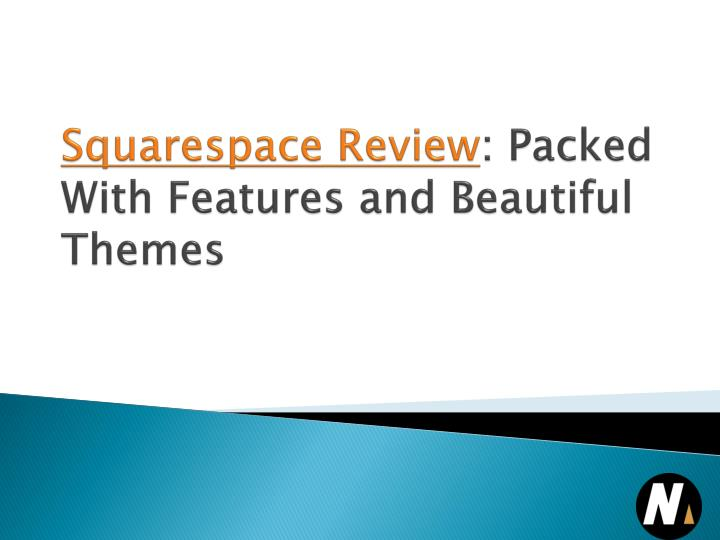 squarespace review packed with features and beautiful themes n.