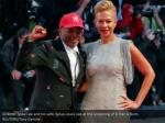 director spike lee and his wife tonya lewis