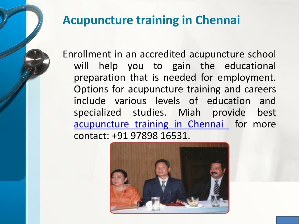 PPT - Acupuncture Treatment Centers in Chennai PowerPoint