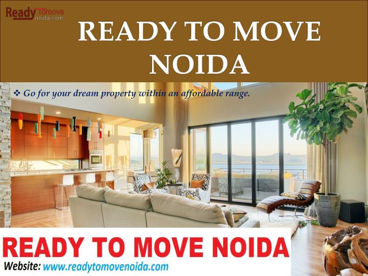 ready to move noida n.