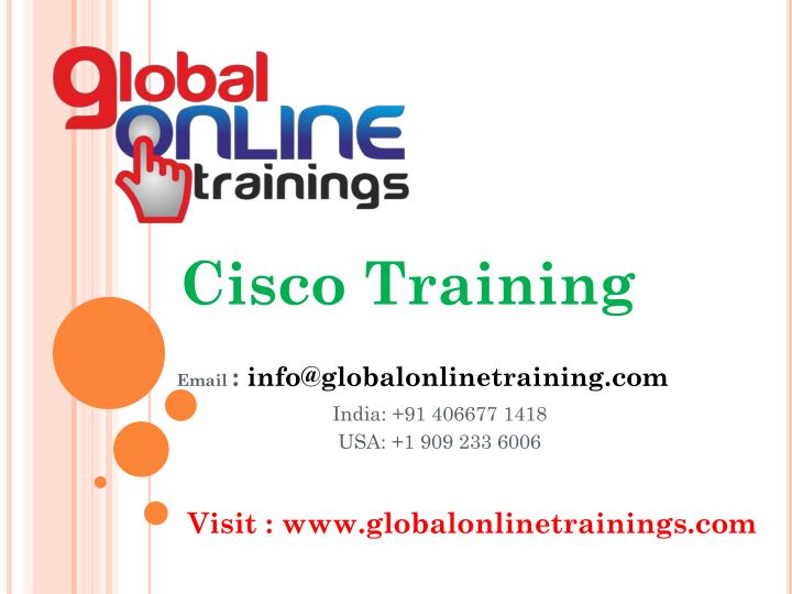 PPT - Cisco training | Cisco CCNA CCNP certifications online