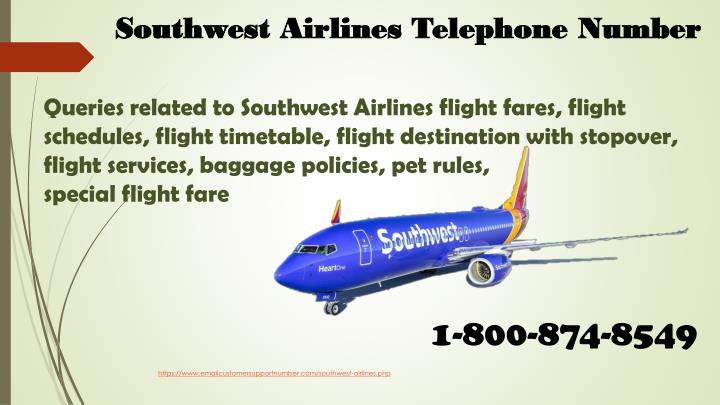 southwest airlines telephone number n.