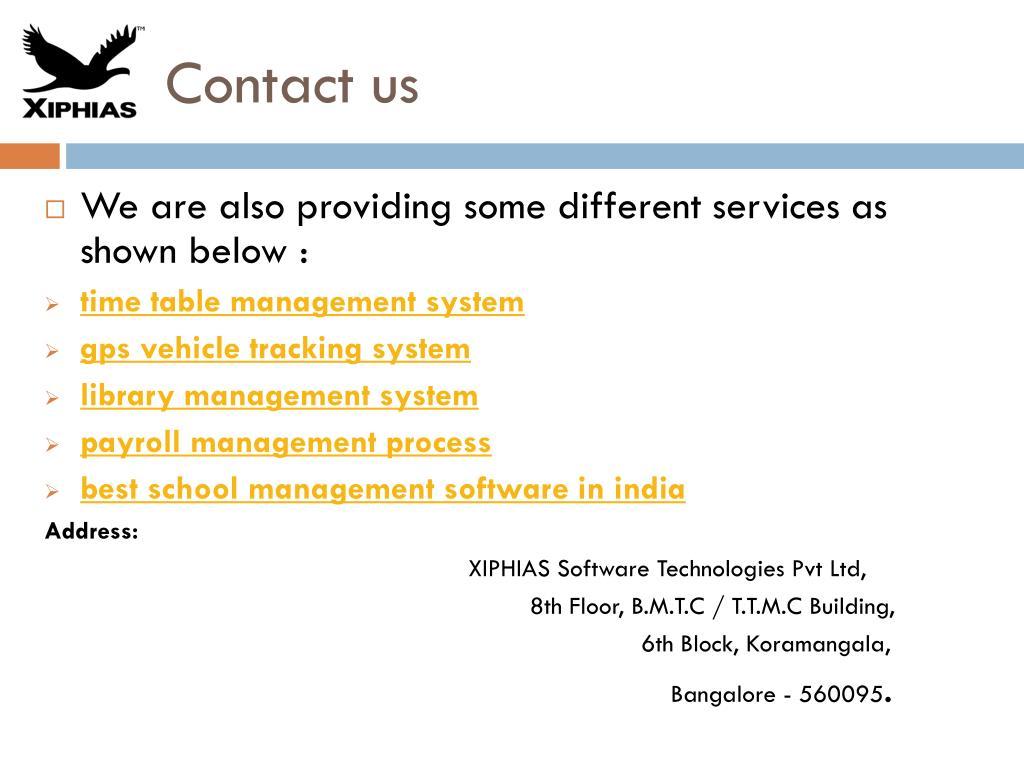PPT - school erp system PowerPoint Presentation - ID:7994965