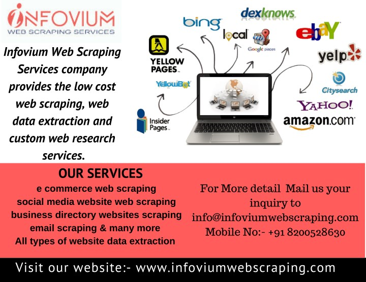 PPT - Web scraping services data scraping services web data
