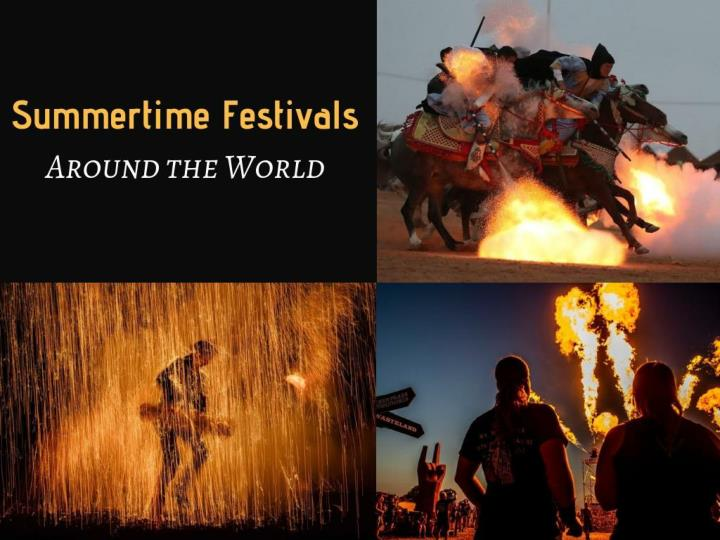 summertime festivals around the world n.