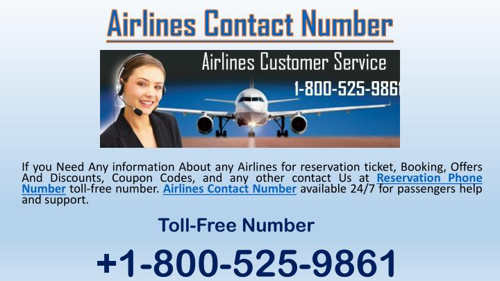 airlines contact number n.