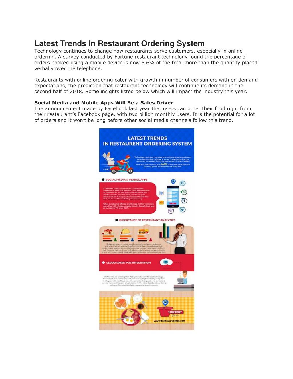 PPT - Best restaurant ordering system for online food ordering