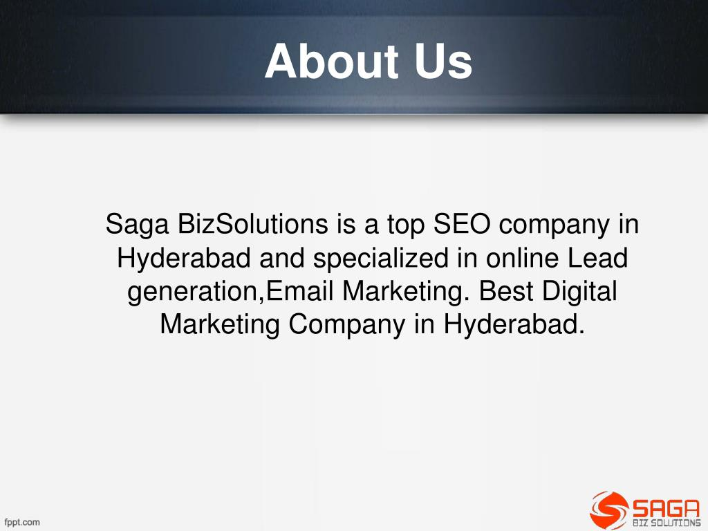 PPT - SEO Company Hyderabad, Best SEO Services in Hyderabad