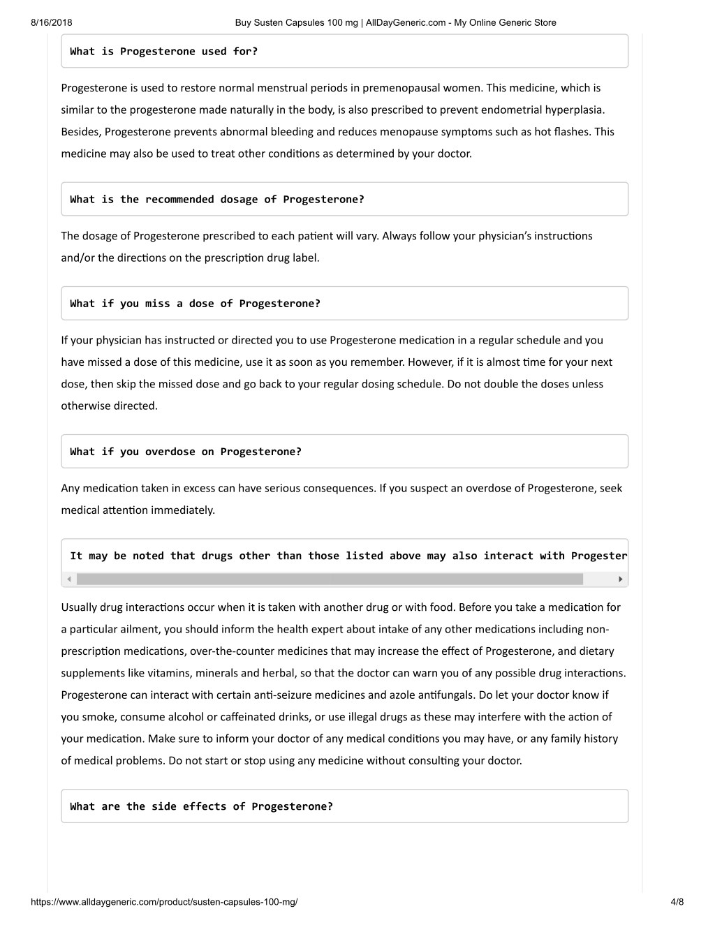 PPT - Susten Capsules 100 mg PowerPoint Presentation - ID