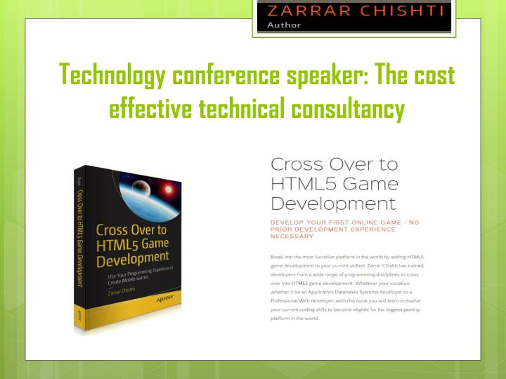 technology conference speaker the cost effective technical consultancy n.