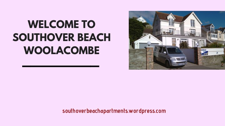 welcome to southover beach woolacombe n.