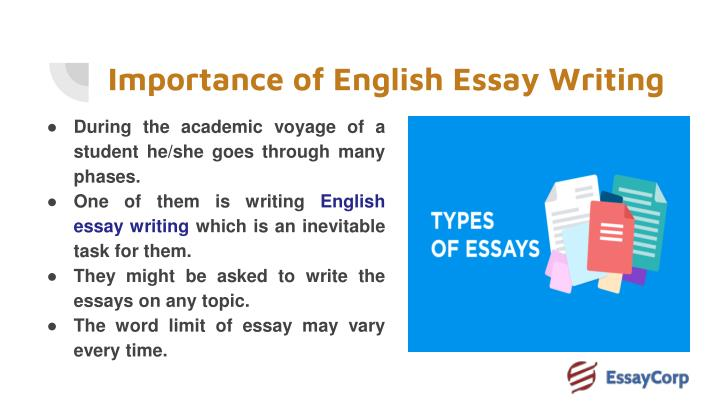 Ppt  Score Best Grades In Your English Essay Writing By Hiring  Importance Of English Essay Writing