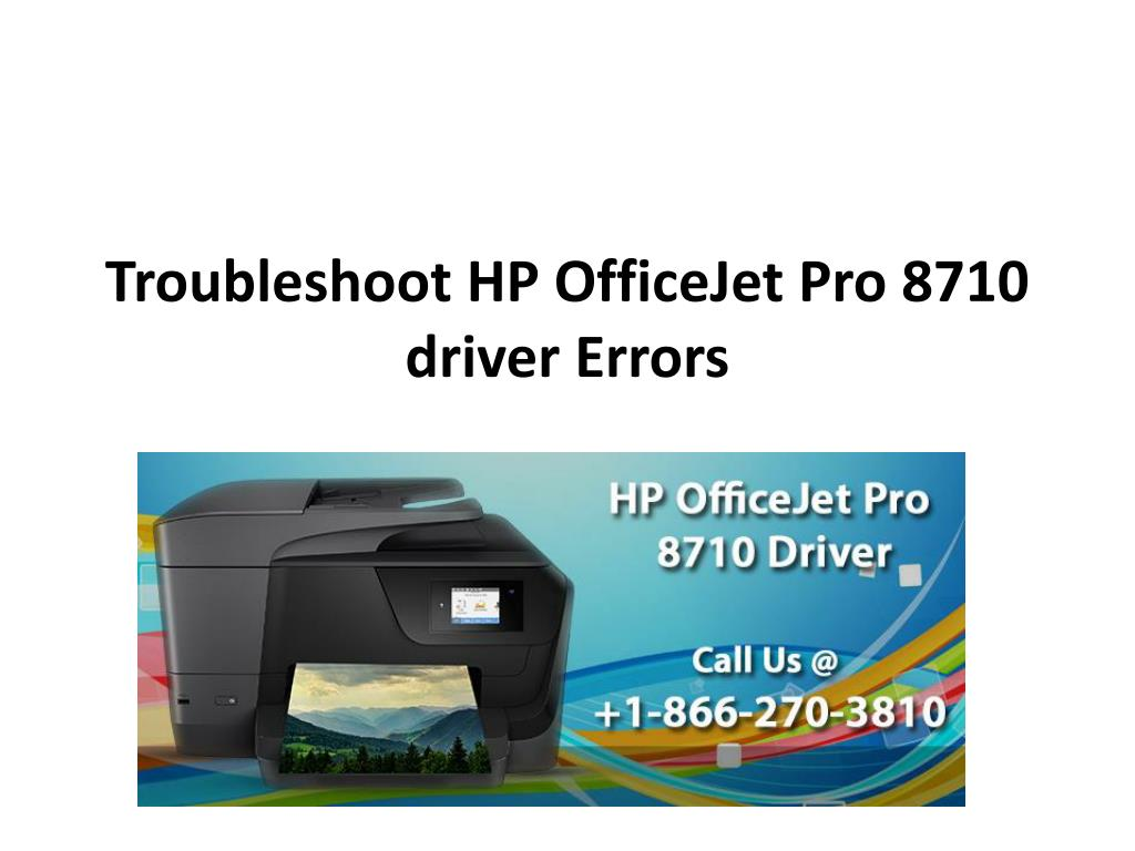 Officejet Pro 8710 Front Panel
