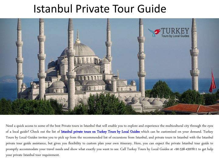 istanbul private tour guide n.
