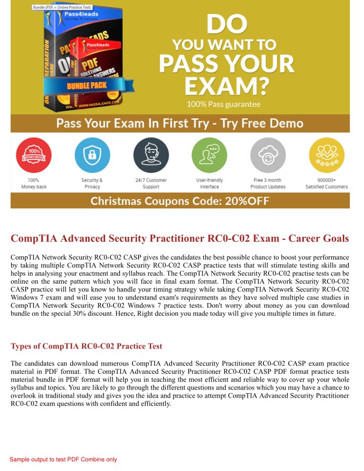 PPT - 2018 Updated RC0-C02 CASP Exam Practice Questions PowerPoint