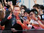 tony curran arrives for the world premiere