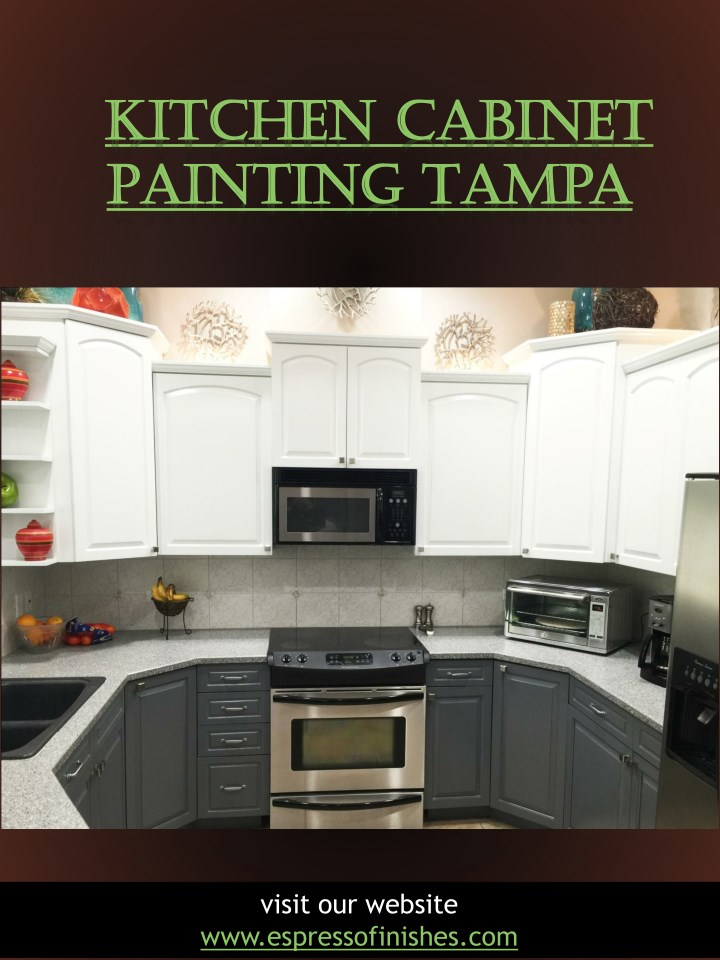 Kitchen Cabinet Painting Tampa