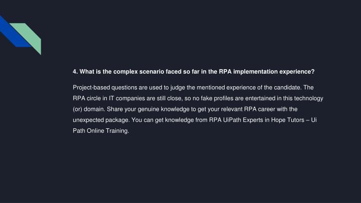 PPT - UiPath Online training PowerPoint Presentation - ID