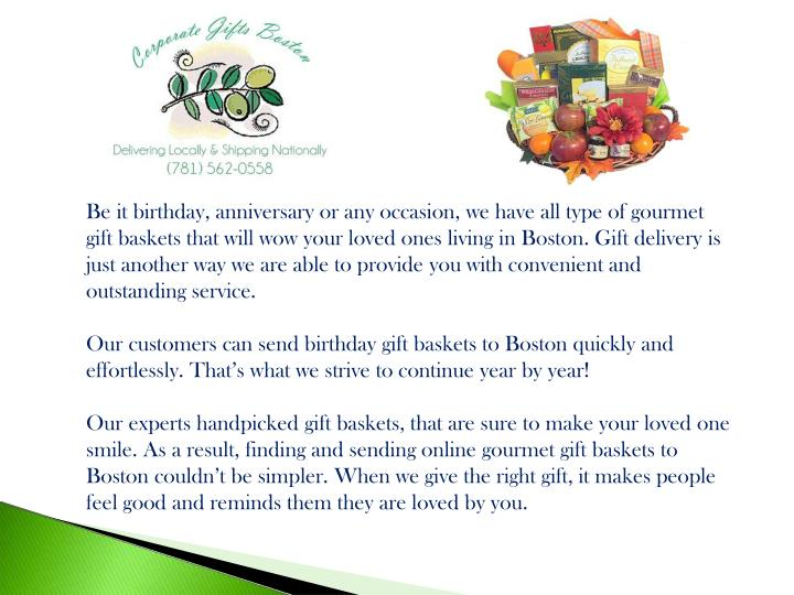 Be It Birthday Anniversary Or Any Occasion We Have All Type Of Gourmet Gift Baskets That Will Wow