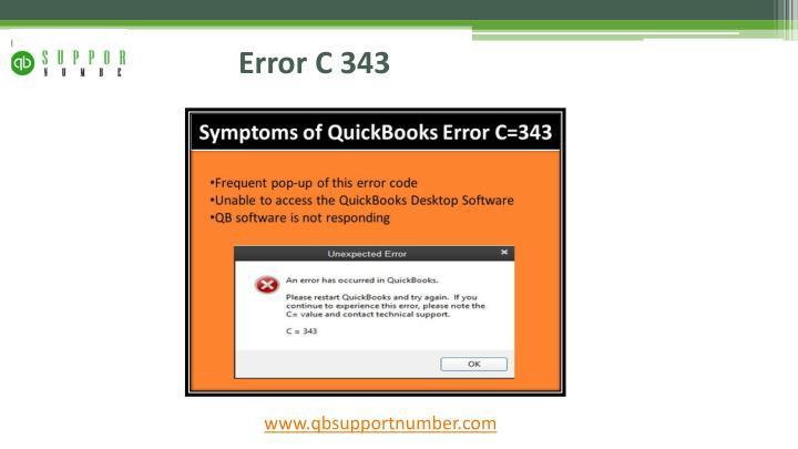 PPT - Instructions to settle QuickBooks Enterprise Error in Windows
