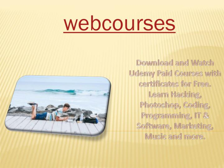 PPT - Free Online Courses with Certificates   Online Classes