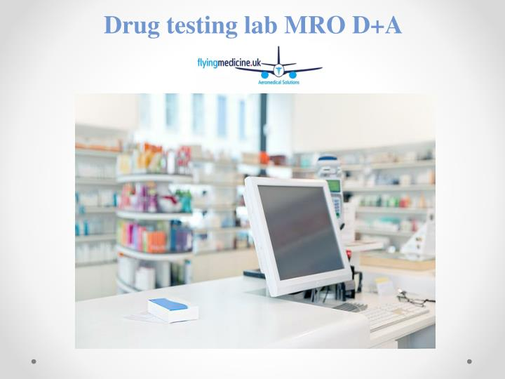 PPT - Occupational Drug and Alcohol testing PowerPoint