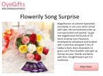 flowerily song s urprise
