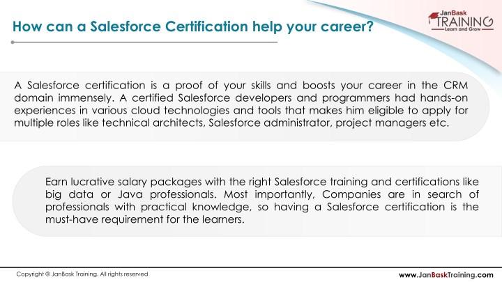 PPT - Career Growth of Salesforce Developer & Programmer