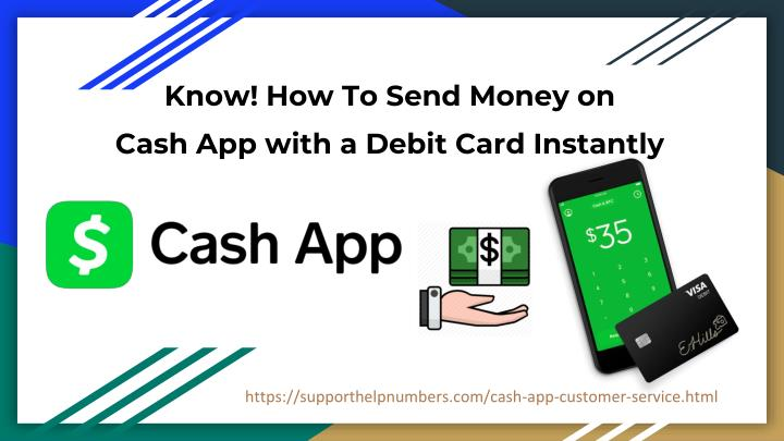 PPT - How to Send or Receive Money on Cash App with Debit
