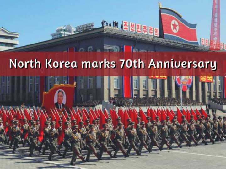 north korea marks 70th anniversary n.