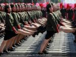 soldiers march during a military parade reuters