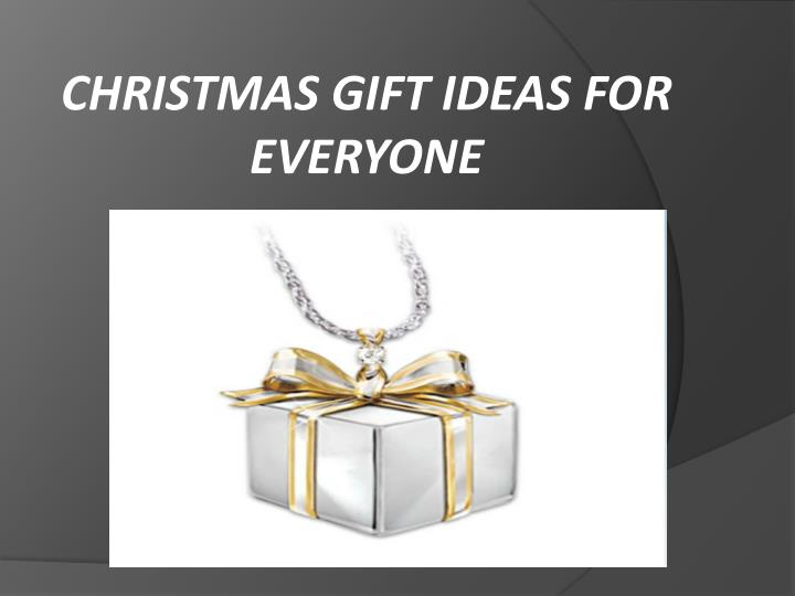 christmas gift ideas for everyone n.