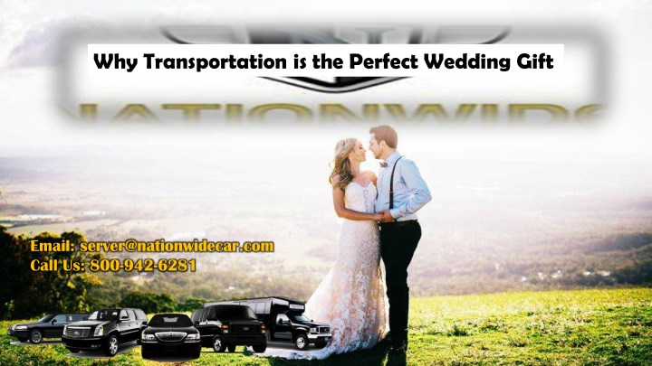 why transportation is the perfect wedding gift n.