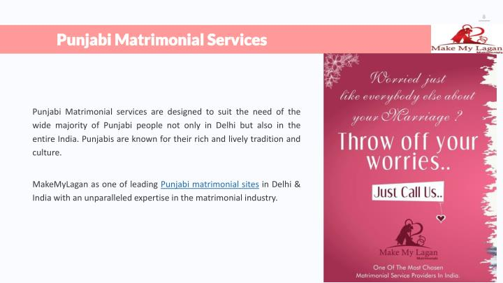 PPT - Make My Lagan - Matrimonial Services Offered
