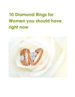 10 diamond rings for women you should have right
