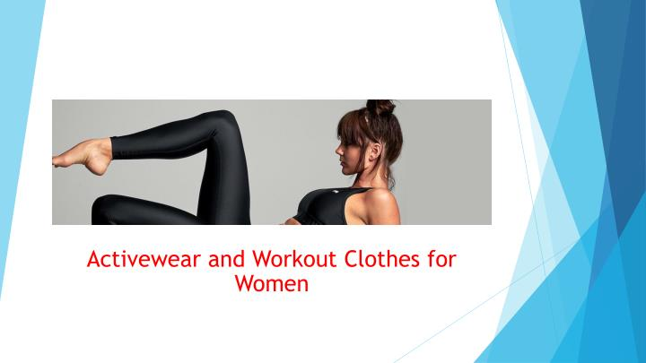 activewear and workout clothes for women n.