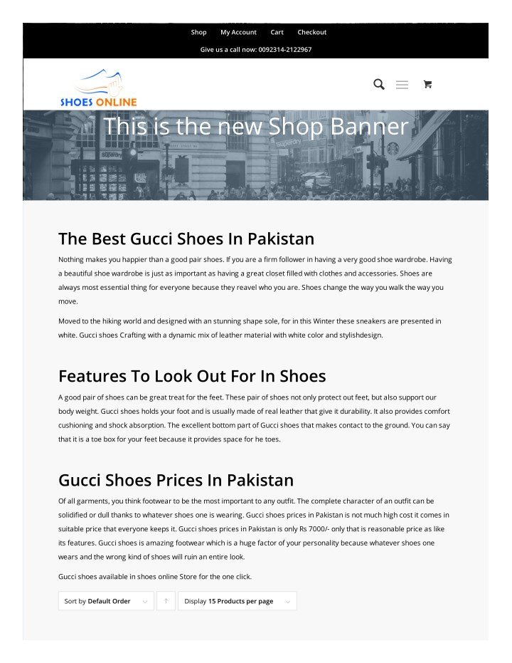 PPT - gucci shoes in pakistan PowerPoint Presentation - ID