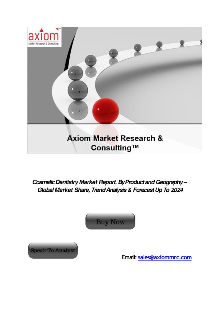 cosmetic dentistry market report by product n.