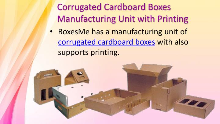 PPT - New look Custom Corrugated Boxes PowerPoint