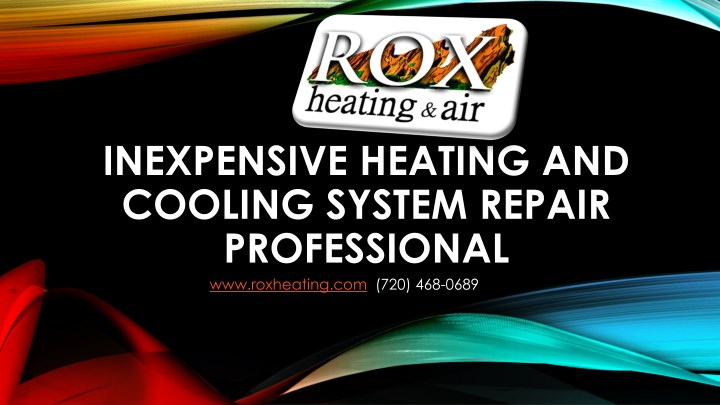 inexpensive heating and cooling system repair n.