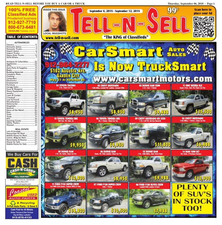 read tell n sell before you buy a car or a truck n.