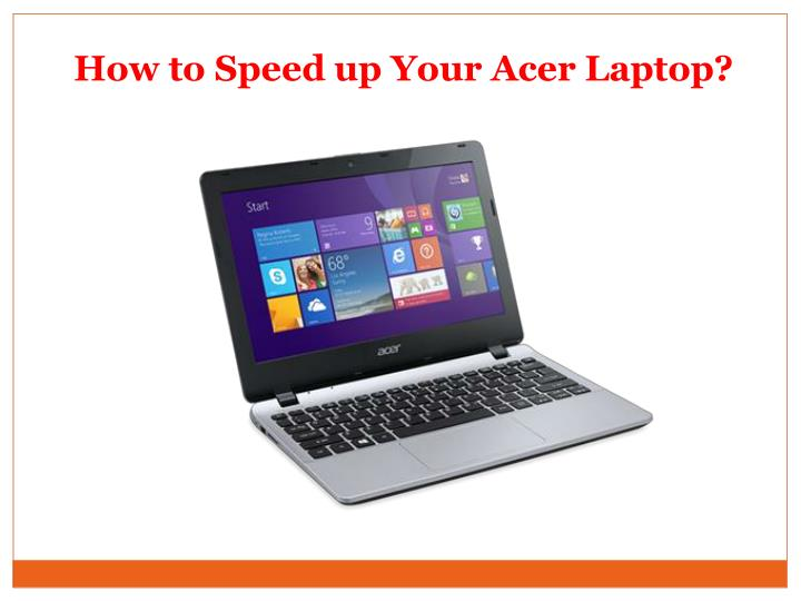 how to speed up your acer laptop n.