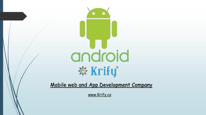 mobile web and app development company n.