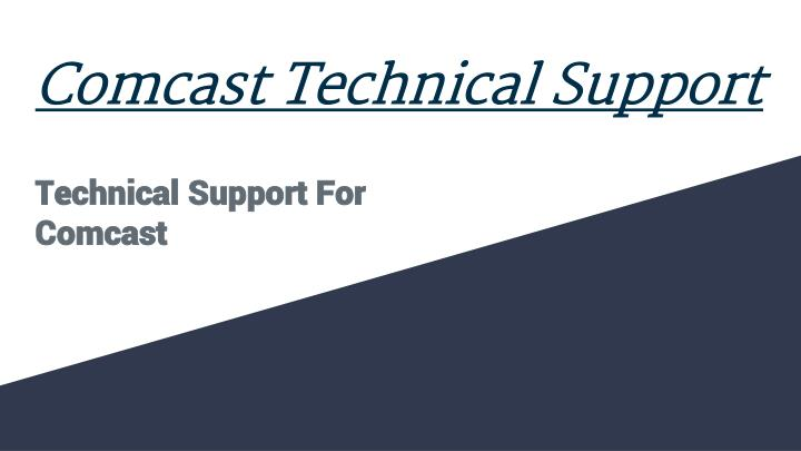 comcast technical support n.